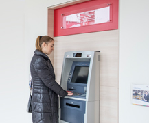 ATM retragere
