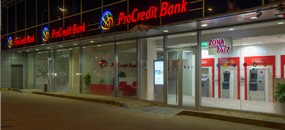 First ProCredit Bank branch to operate without cash at the counter