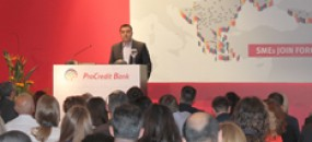 Clients of ProCredit Bank gather in Thessaloniki to discuss new business opportunities